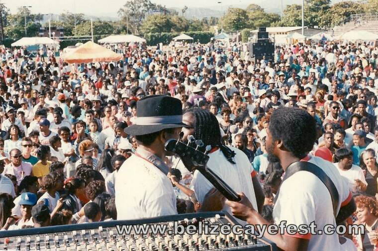 1st Annual Belize Caye Fest 1988 @ Jackie Robinson Stadium in Los Angeles